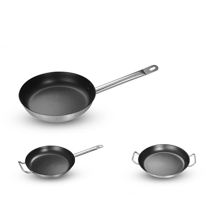 Promotional Quality Guaranteed Customized Design Cookware Sets Cast Iron Frying Pan