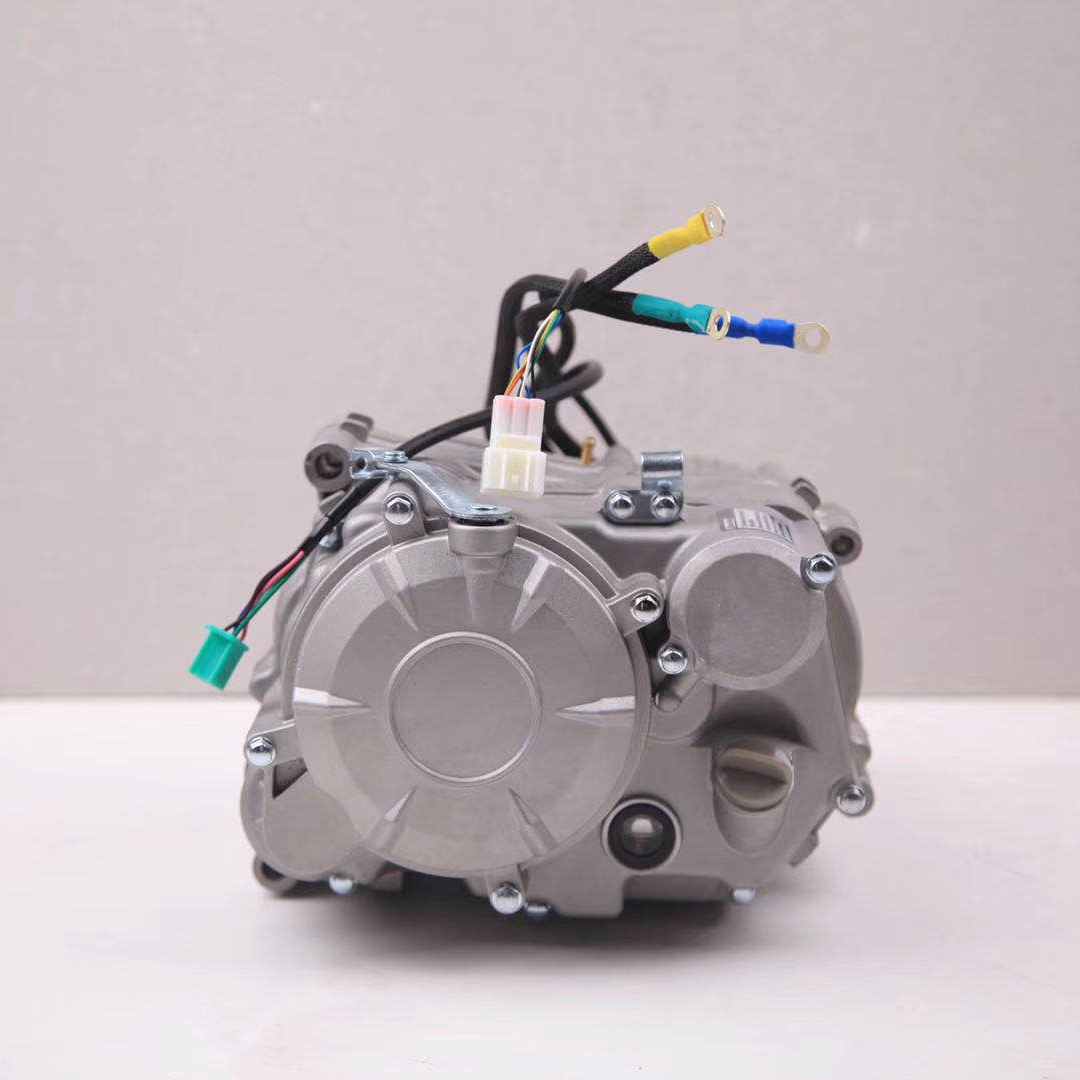 Electric Motorcycle Conversion Kits with Motorcycle Motor Controller and Gearbox