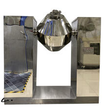 Latest Technology Stainless Steel Drying Unit Double-Cone  Rotary Vacuum Dryer