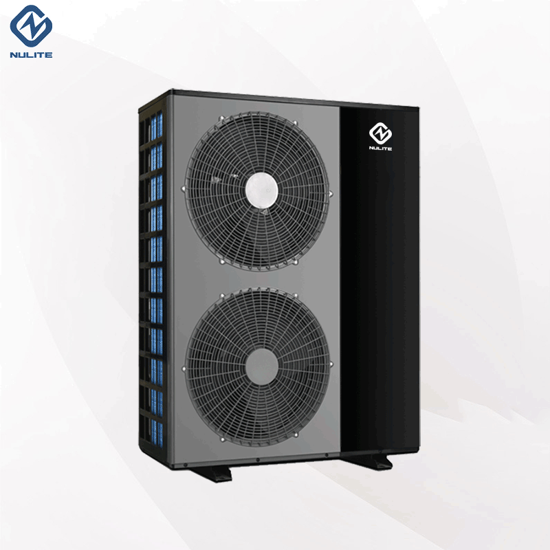 R407c B5SD cold climate air source heatpump heating 10kw 16kw 20kw EVI monobloc air to water heat pump