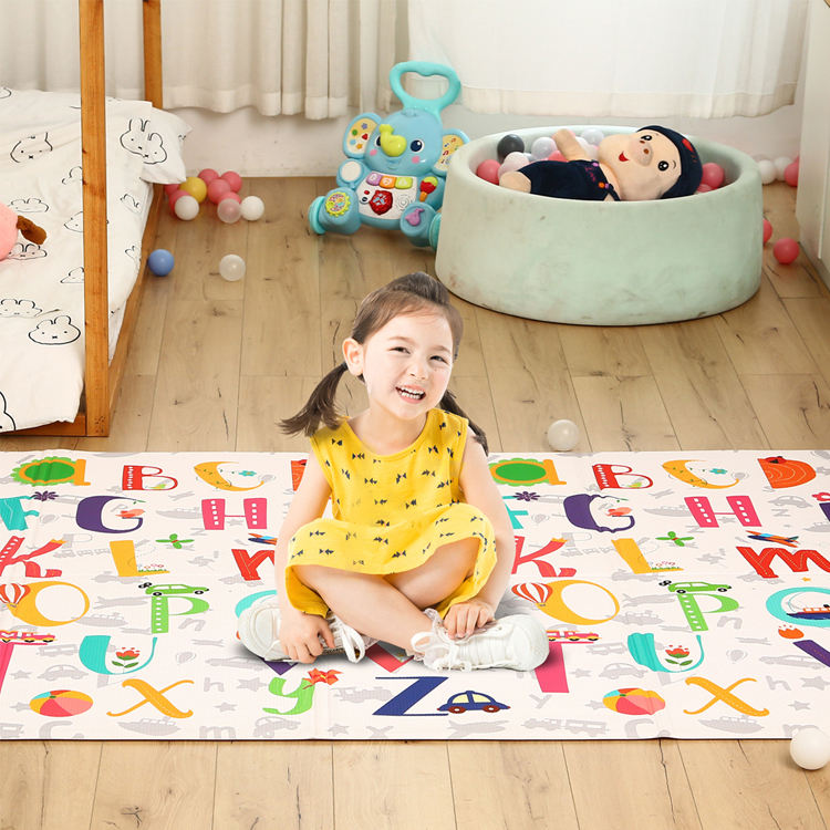 Eco-Friendly Custom Baby Pvc Kids Play Mat Comfort Mat