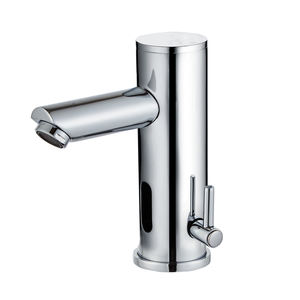 Deck Mounted Electric Faucet Control Temperature Automatic Sensor in Faucet in Basin faucets