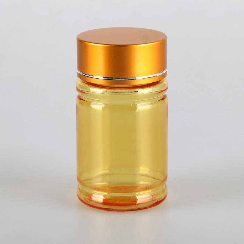 Luxury 60ml custom color bottles capsule container pill bottles