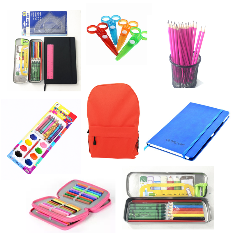Hot Sale Factory Supply School Custom Kids Essentials Stationery Gift Set Kit
