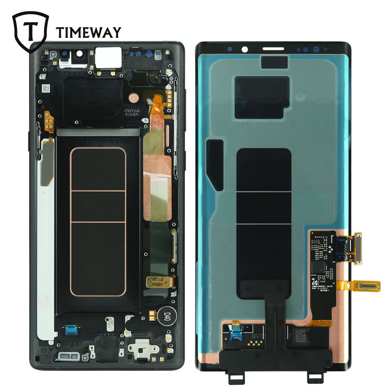 for Samsung Galaxy Note 9 Edge LCD Touch Screen Digitizer blue