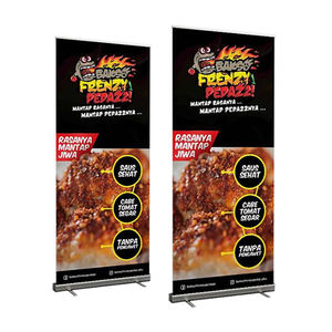 Factory direct sale roll up banner frame cheap pull up stand banner printing roll up display for promotion