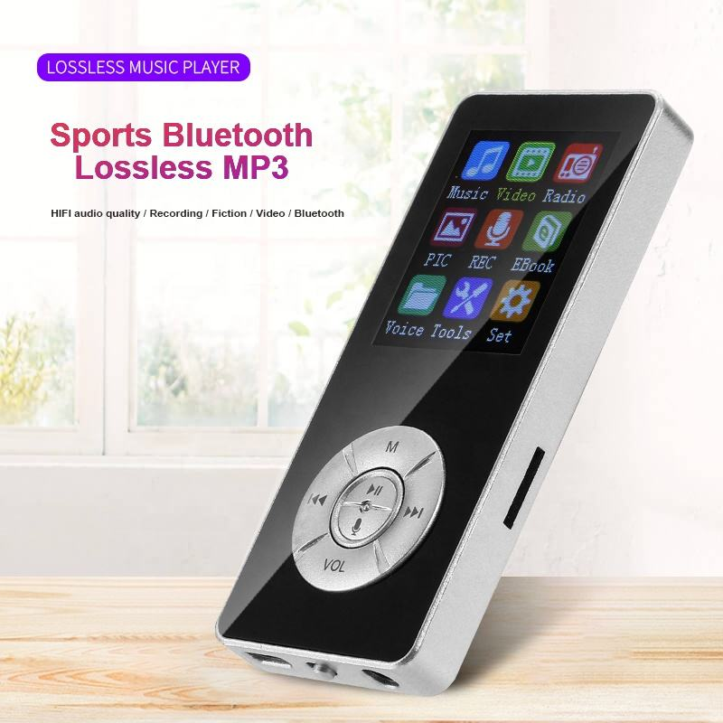 new students mp4 player with bluetooth hifi mini music players