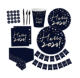 Children Birthday Decorations Themes Eco Cutlery Disposable Event Party Supplies