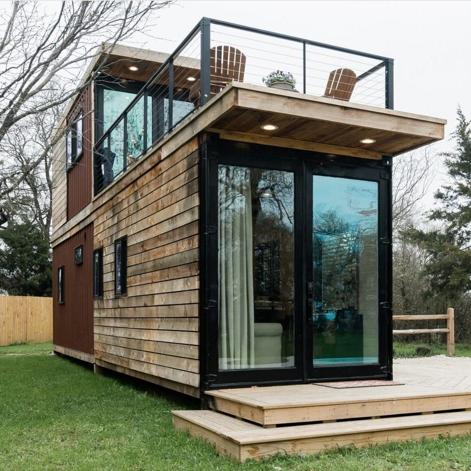 Living shipping container home tiny modular home Portable prefab foldable container house cheap prefabricated house