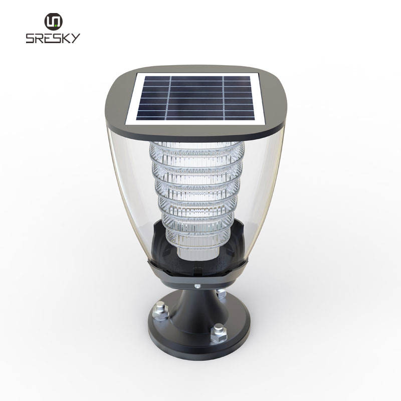 Solar Post Lamp Garden Patio Led Lighting For The Home