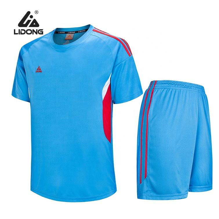 High Quality Football Training Sportswear 2020 Urban Football Shirt Men's Wholesale