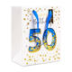 High Quality Birthday Party Small Paper Bags With Handle Age 50