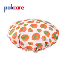 Eco Luxury Quick-drying Double Layer EVA Shower Cap for women