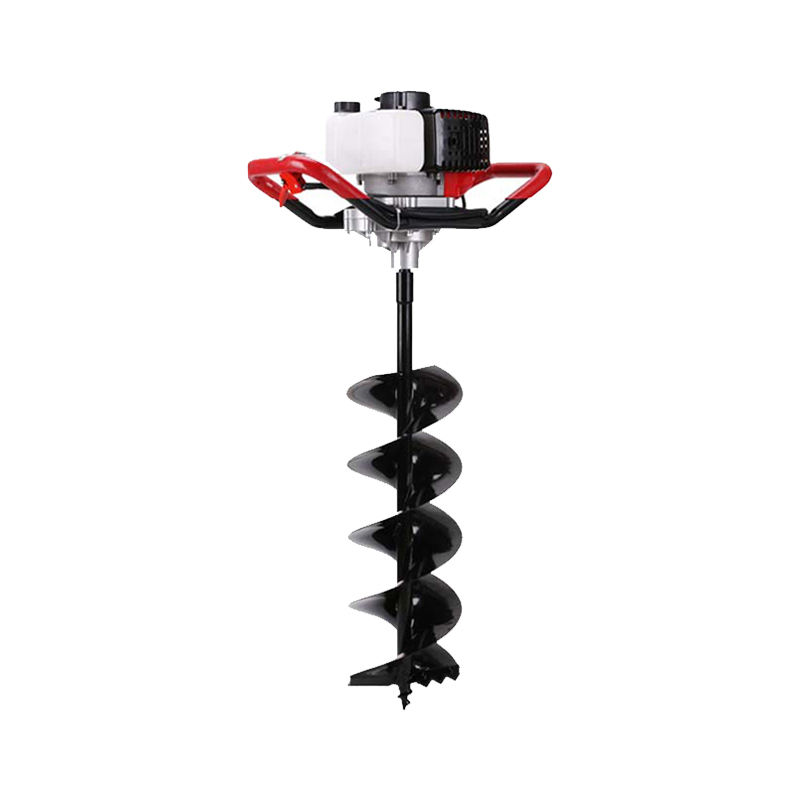 Digging Grounding Tree Planting Four-stroke Small High-power Planting Digging Ground Hole Pile Driver Gasoline Drilling Machine