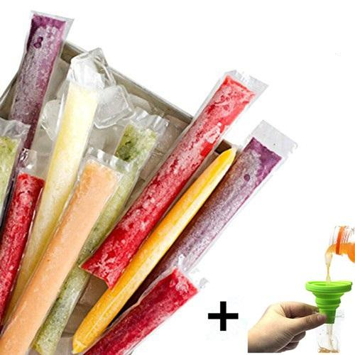 Custom Transparent Frozen Ice Cream Pop Popsicle Mold Packaging Bag