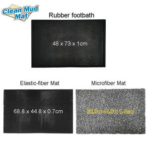 High Quality Rubber Tray Sanitizing Anti Bacteria Disinfection Entrance Foot Door Mat