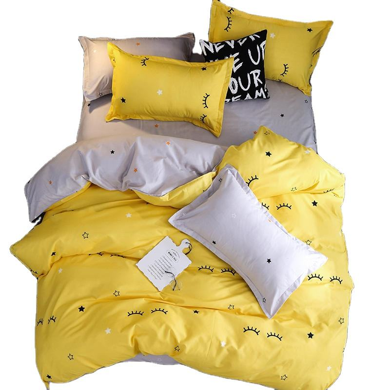 Home Textile Bedding Set Duvet Cover Pillowcase bed Sheet set
