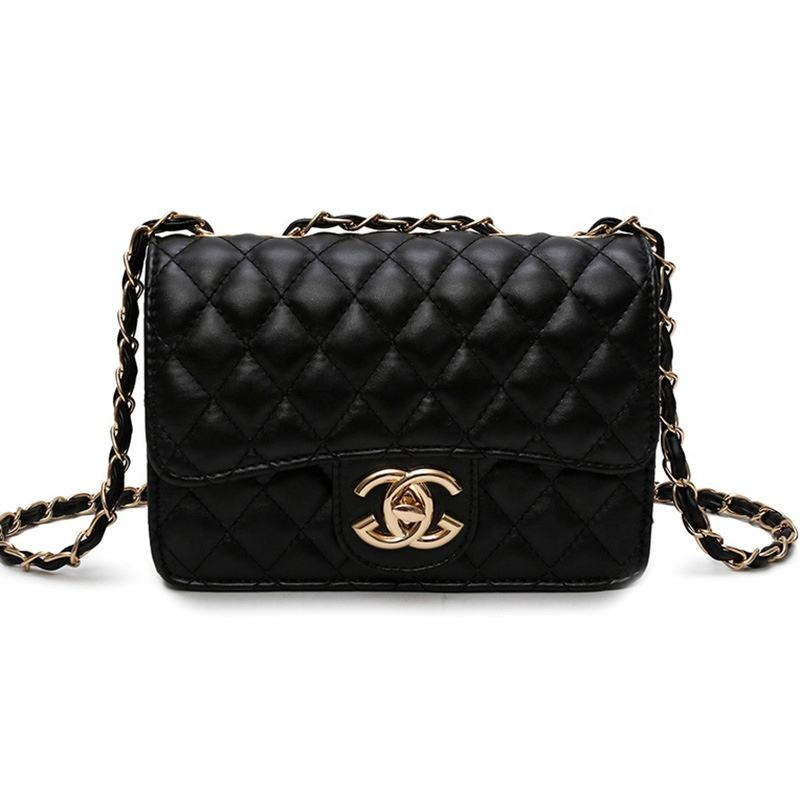 Fashion Ladies Leather Purses Handbags Designers Channel Bags Women Crossbody Hand Channel Bag