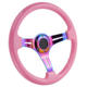 Racing Car Accessories Billet Steering Wheel,Pink Racing Steering Wheel