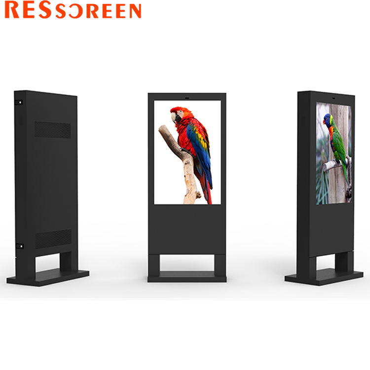 Waterproof 55 65 inch android billboard advertising display outdoor digital signage kiosk