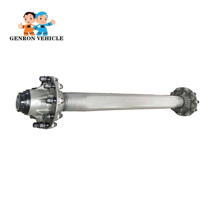 Single Axle Trailer Axles without Brake System by Trailer parts factory