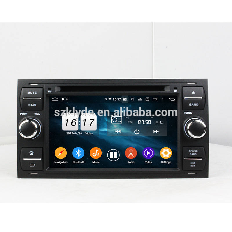 "KLYDE KD-7016 PX6 Car Stereo 4+64G Android 10.0 7"" DVD Player GPS Navigation Car Audio for FORD"