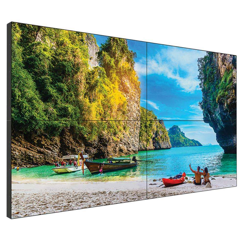 Did Display 46 Inci Bezel Tipis 2X2 Pengontrol Tv 55 Inci Layar Hd Harga Iklan Digital Papan 3X3 Lcd Video Dinding