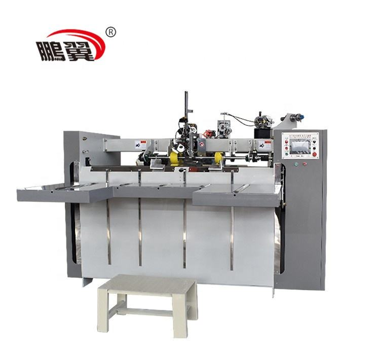 ZHDX China Low Prise Manual Semi Automatic Corrugated Carton Box Stitching Machine Price