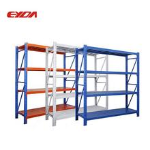 4 Tier Adjustable Shelf Boltless Multi-level Storage Metal Rack