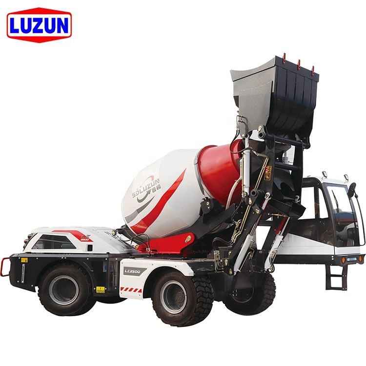 self loading concrete transit mixer manufacturers in china