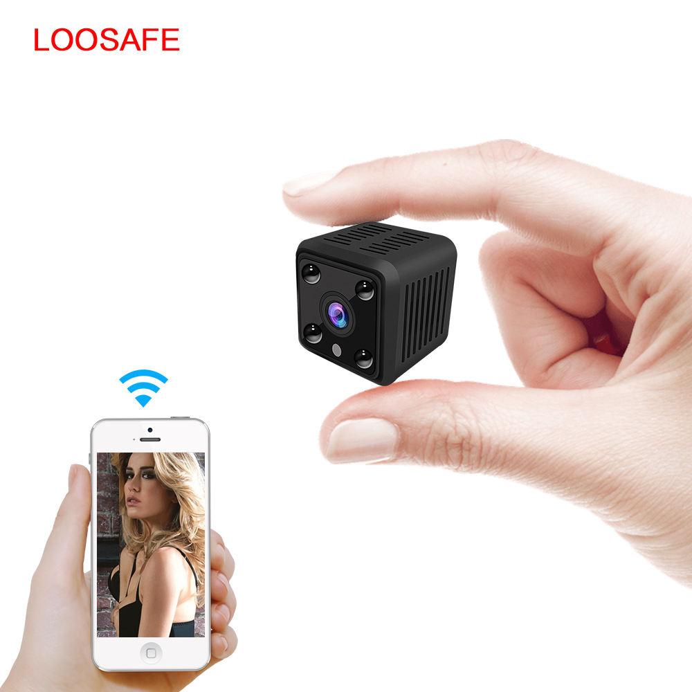 Батарея инфракрасный ночное видение мини Wi Fi spy Камара обнаружения движения Беспроводной Скрытая камера