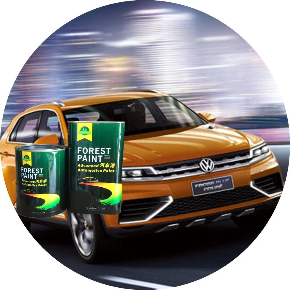Hot-Sales Easy Coat Auto Acryl Weiß Karosserie Refinish Paint