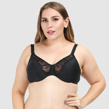 High Quality Womens Push Up Big Sexy Seamless Lingerie Underwear Plus Size Bra For Fat Women