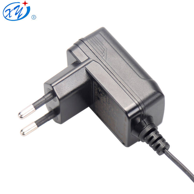 Universal 5 V 12 V 24 V 36 V 6 W Eropa Pencahayaan AC DC Switching Power Supply Adapter