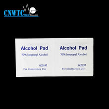 Sterile disposable alcohol prep pad 3x3mm for disinfection use