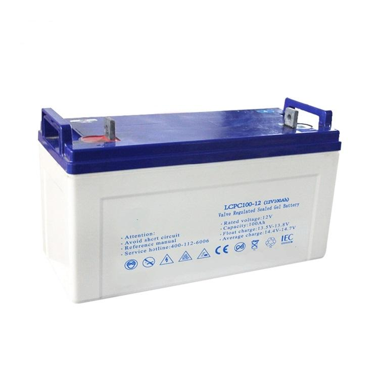 10 Years Life Span GEL Sealed 12v 100ah 120ah 150ah 200ah 250ah Lead Acid Deep Cycle Battery with Inverter