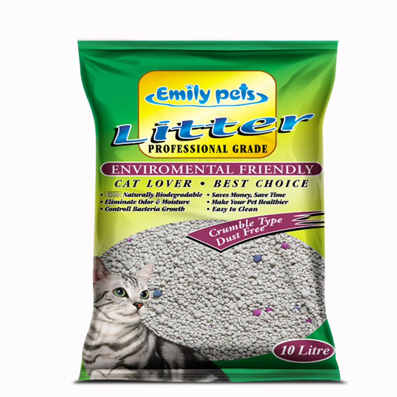 Latest Pet Products Granular Clumping Bentonite Cat Fine Sand