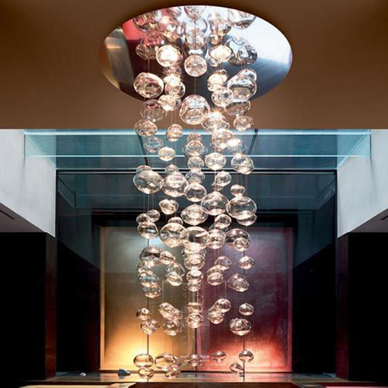 Top design luxury glass spare parts crystal chandelier for hotel