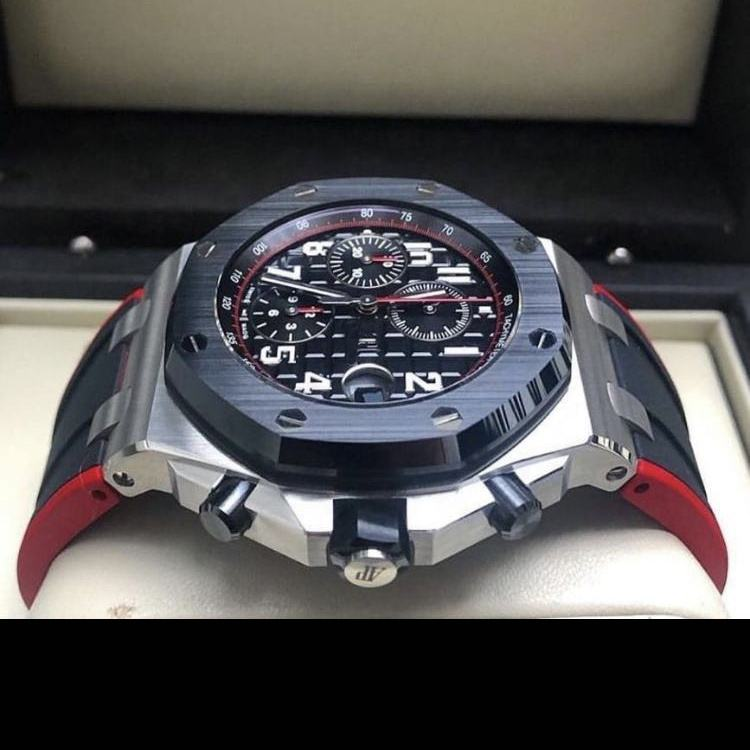 Custom logo AP. High-end luxury multi-function quartz stainless steel men's mechanical watch