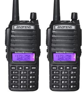 מכירה לוהטת baofeng UV-82 DUAL Band דו דרך רדיו Fm כף יד ווקי טוקי