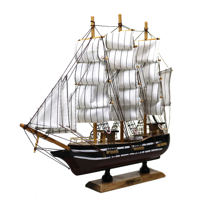Customized nameplate European Style Wooden Scale Model Ship Assembly Model Kits Classical Sailing Boat Model Custom lettering