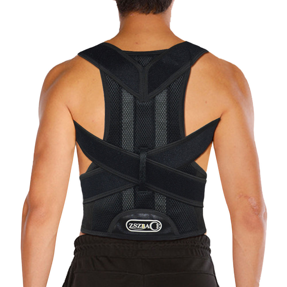 Houding Stijltang <span class=keywords><strong>Ademend</strong></span> Houding Corrector Back Brace Voor Vrouwen & Mannen