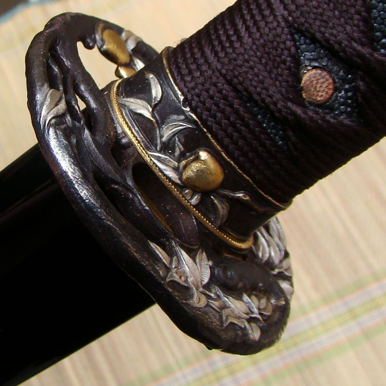 Handmade Antique Sword With Monkey Tsuba Drop Shipping