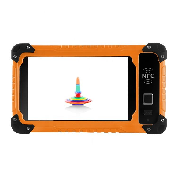 S70V2 barcode rugged android tablet pc oem odm industrial rugged 7 inch 4G lte wifi 3gb ram option gpio rs232 rs485 uart