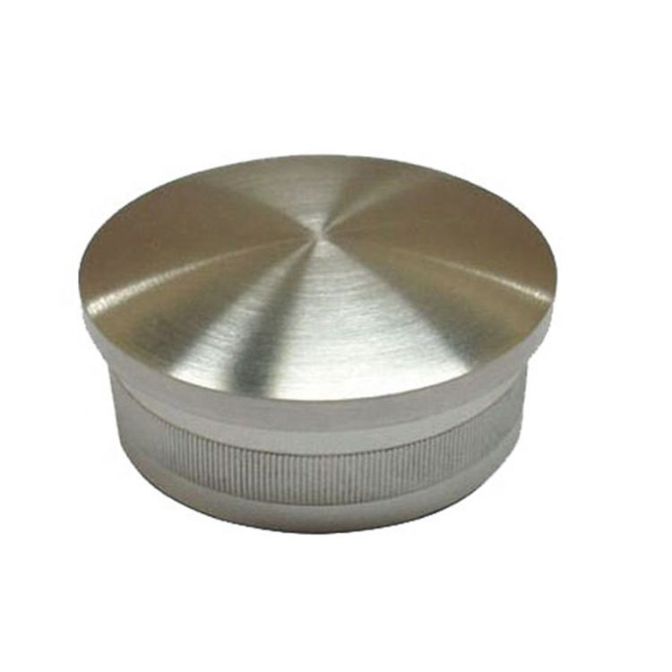 Logo Customization [ Inox Material ] Stainless Steel Tubing End Caps Inox Round Pipe 304/316 Material