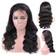 Virgin hair lace front wig,body wave lace front wig