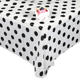 Hotel party waterproof white printed rectangular table cover disposable table cloth
