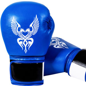 Children/Adult professional winning leather boxing gloves custom logo