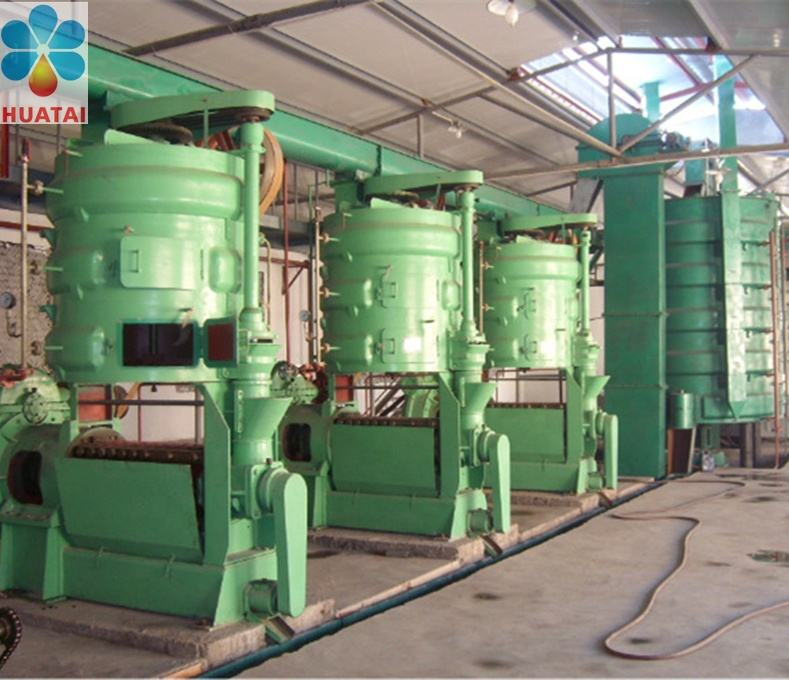 Oil Extraction Rapeseed Soybean Sunflower Sesame Seeds Peanut Oil Press Machine Refining Plant