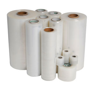 packaging luggage pallet clear plastic packing cast stretch roll film wrap